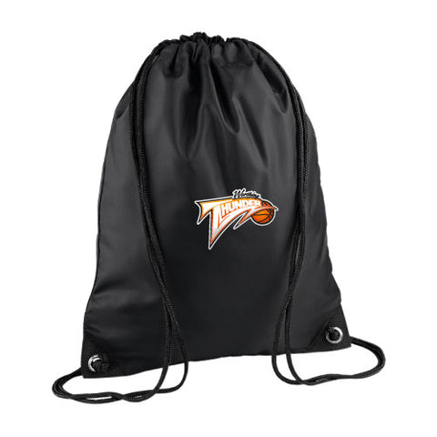 Worthing Thunder Drawstring Bag Black