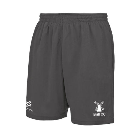 Brill CC Training Shorts Charcoal