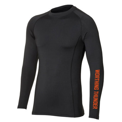 Worthing Thunder Baselayer Top Black