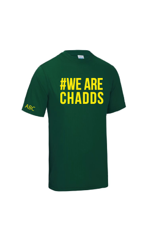 Chaddesley Corbett RFC #WeAreChadds T-Shirt - Junior