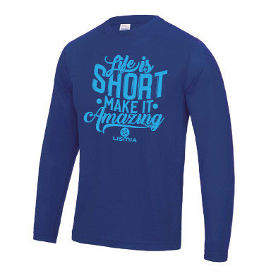 Royal Blue Long Sleeve Tee