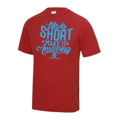 Red Gym T-Shirt