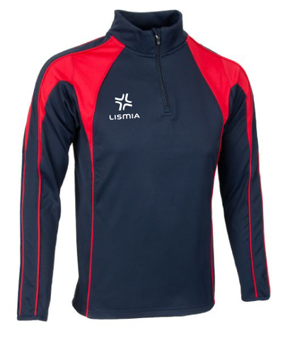 LISMIA Pro Midlayer Navy/Red