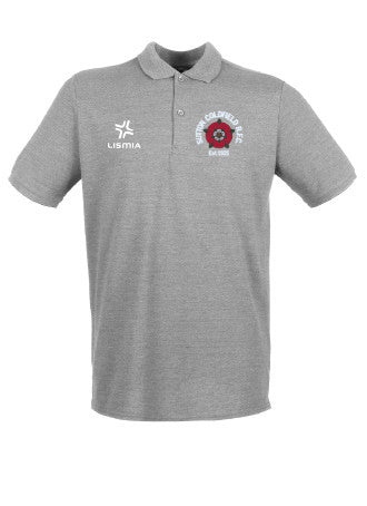 Sutton Coldfield RFC Traditional Polo Shirt - Grey