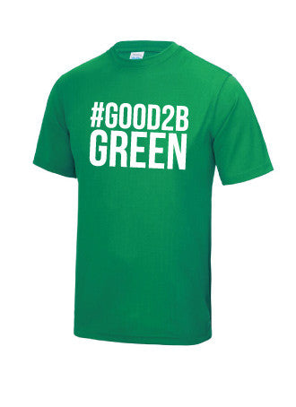 Sutton Coldfield RFC #Good2BGreen T-Shirt - Junior