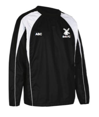 Brill FC Pro Training Top Black/White