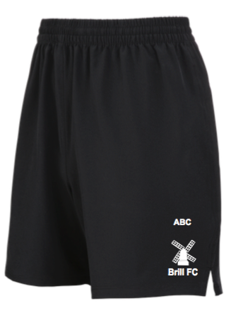 Brill FC Training Shorts Black