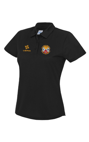 Leafield Athletic Ladies FC Breathable Polo Shirt - Ladies