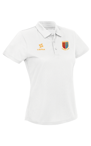 Worthing Rowing Club Breathable Polo Shirt White (LADIES)