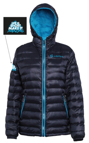 LISMIA Ladies Padded Jacket Navy
