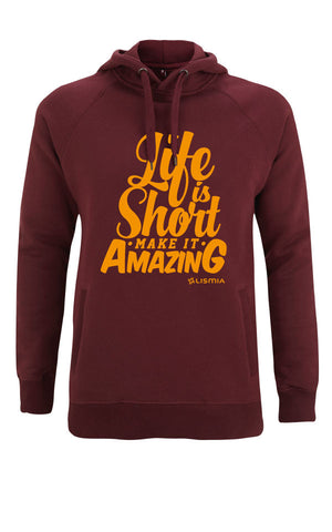 SURF Hoody : Burgundy