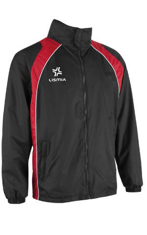 Lismia Pro Rain Jacket Black/Red
