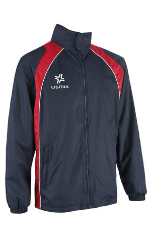 Lismia Pro Rain Jacket Navy/Red