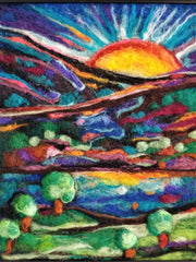 Leah Wilson | Amazing Felted Fibre Arts | Fly in the Fibre | Creston BC