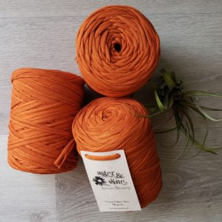 Aster & Vine | Cotton Jersey T-Shirt Yarn | Fly in the Fibre | Creston