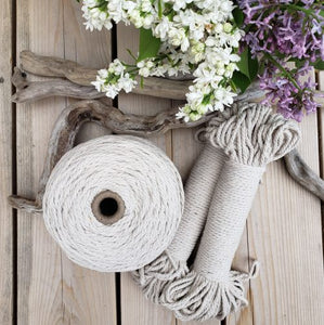 Recycled Cotton Rope | Aster & Vine | Fly in the Fibre | Creston BC