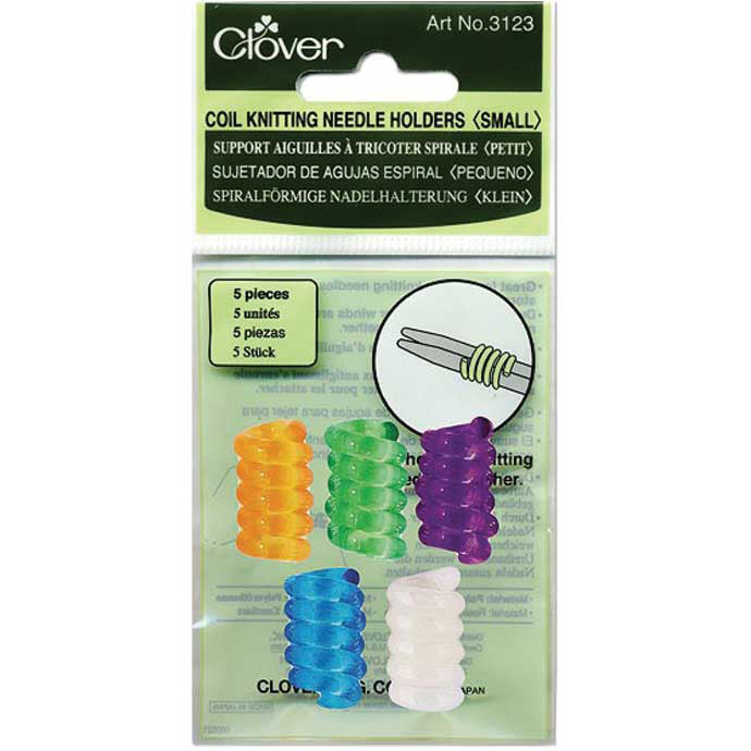 Coil Knitting Needle Holders | H.A. Kidd | Fly in the Fibre | Creston BC