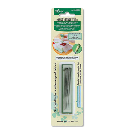 Clover Felting Needle Refill | H.A. Kidd | Fly in the Fibre | Creston BC