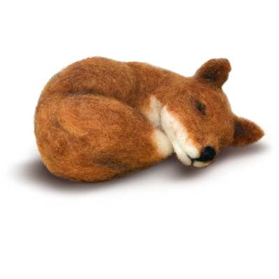 Sleepy Animal Felting Kit | Fly in the Fibre | Creston BC
