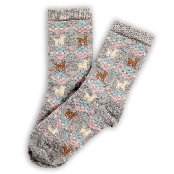 Polygon Alpaca Socks | Pokoloko | Fly in the Fibre | Creston BC