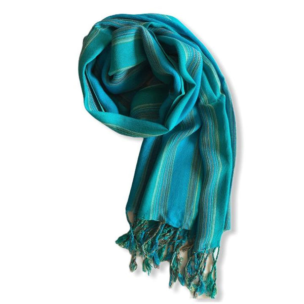 Dandarah Small Solid Handwoven Scarves