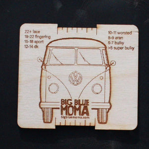 I Love My VW Bug Gauge | Big Blue Moma | Fly in the Fibre | Creston BC