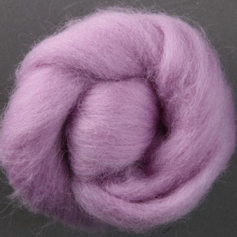 Lavender | Corriedale Top | Ashford | Fly in the Fibre | Creston BC