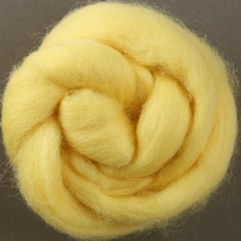 Lemon | Corriedale Top | Ashford | Fly in the Fibre | Creston BC