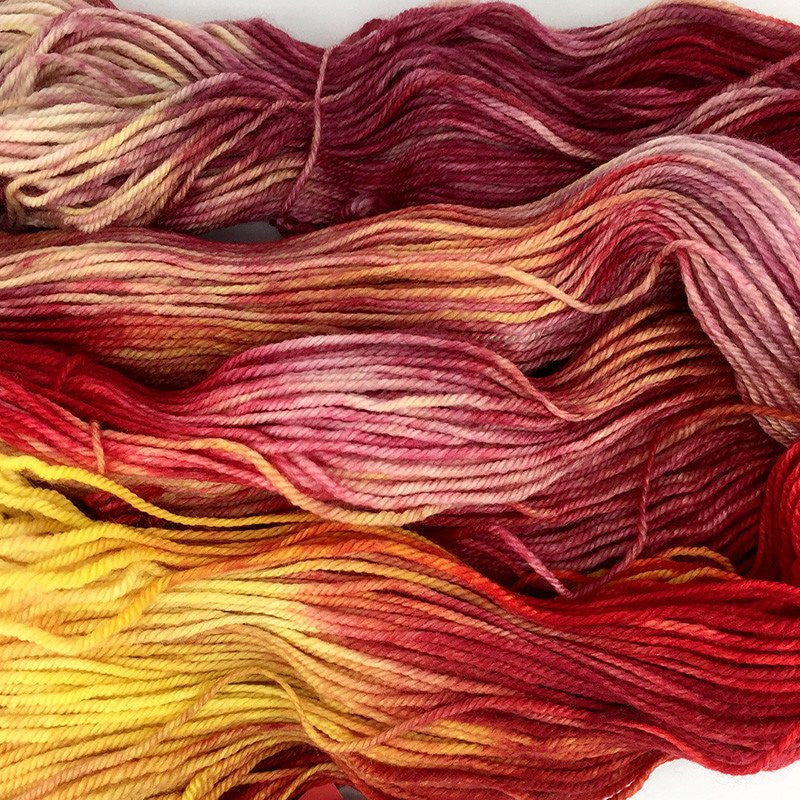 Zen Yarn Garden Serenity Worsted Yarn Fly in the Fibre
