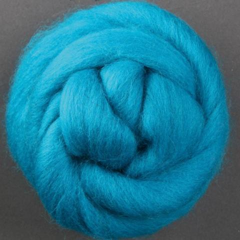 Turquoise | Corriedale Top | Ashford | Fly in the Fibre | Creston BC
