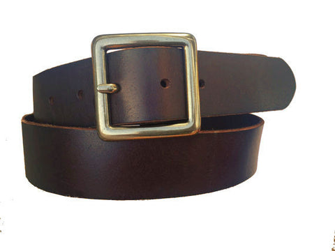 Dean Belt in Dark Brown