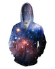 Image of Lush Galaxy Zip-Up Hoodie