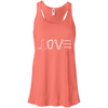 Image of coral love mountain tshirt the peep hole store