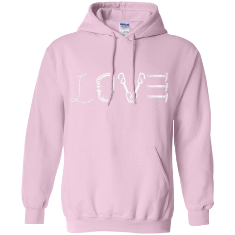 light pink pullover the peep hole store