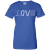 Image of royal love mountain tshirt the peep hole store