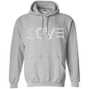 Image of sport grey pullover the peep hole store