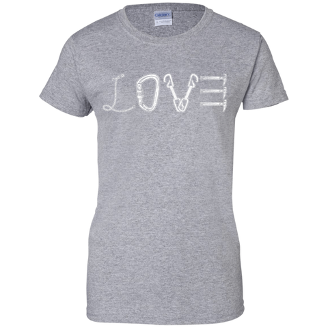 sport grey love mountain tshirt the peep hole store
