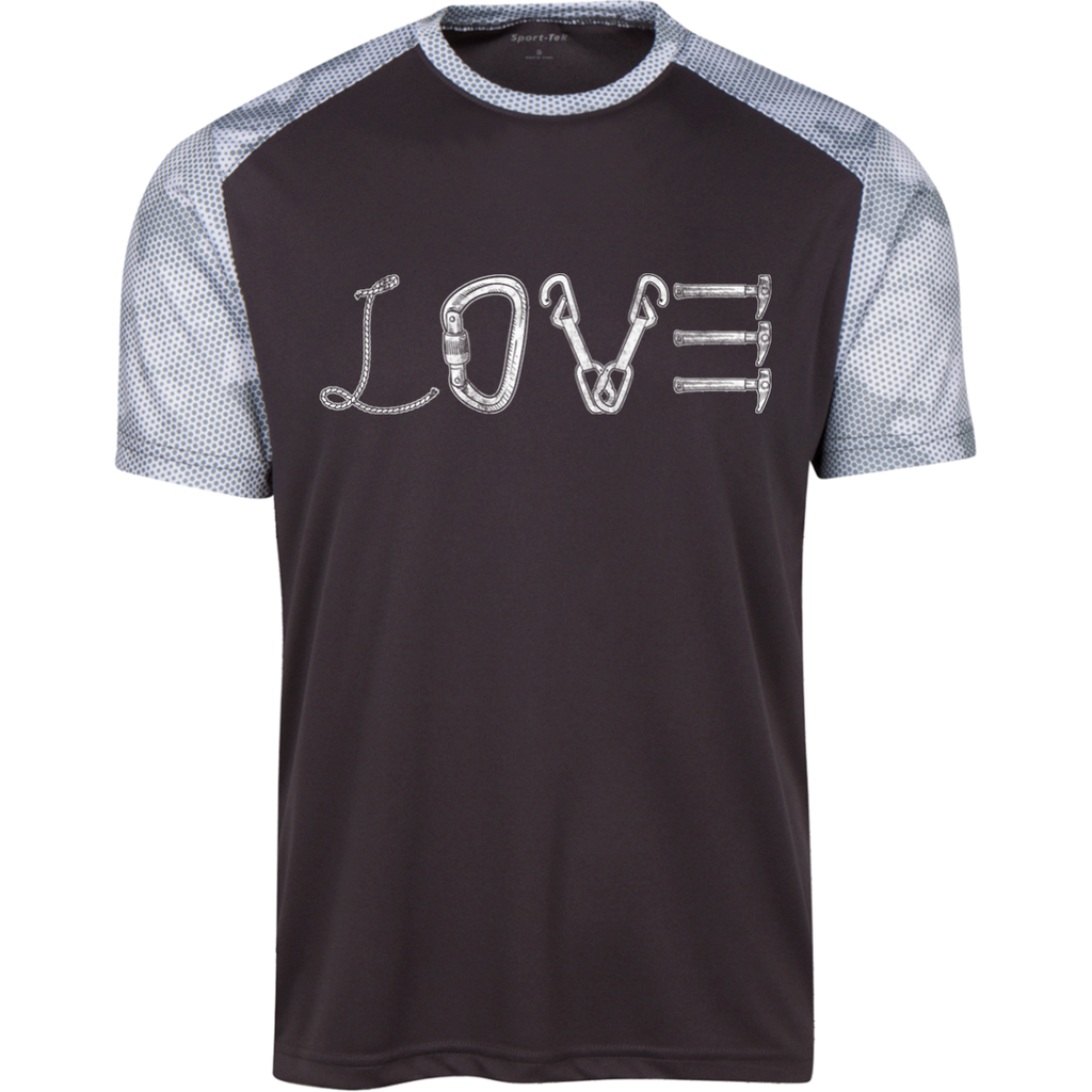 Love Mountain Polyester CamoHex T-Shirt