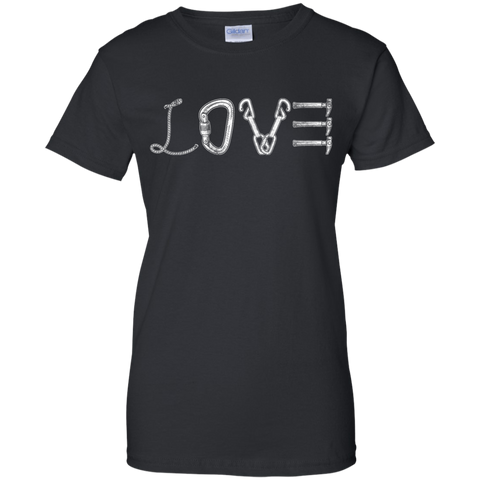 black grey love mountain tshirt the peep hole store