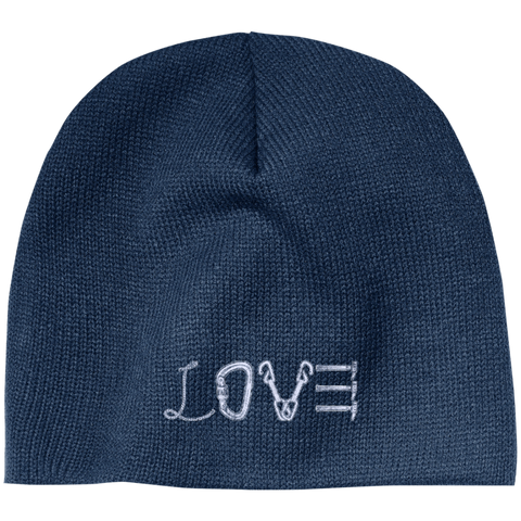 Love Mountain 100% Acrylic Beanie - The Peep Hole Store