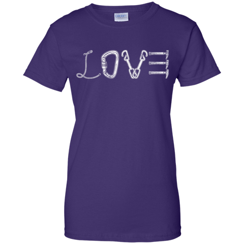 purple love mountain tshirt the peep hole store