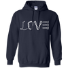 Image of navy pullover the peep hole store