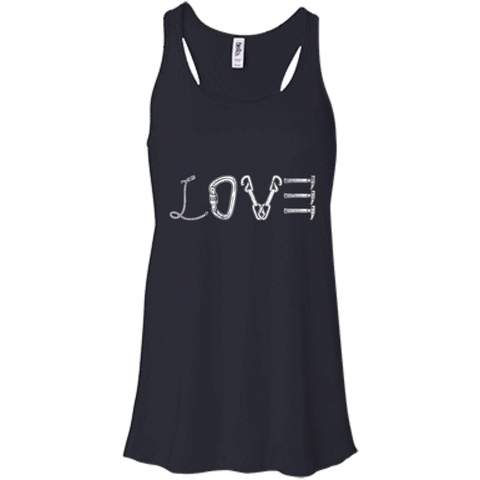 Love Mountain Flowy Racerback Tank