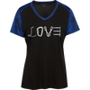 Image of Love Mountain Ladies' Polyester CamoHex T-Shirt