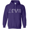 Image of purple pullover the peep hole store