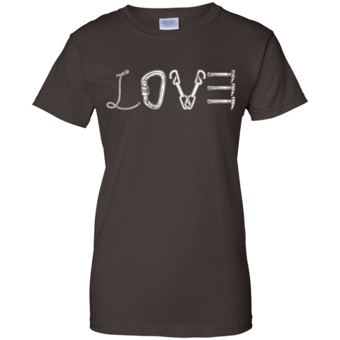 dark chocolate love mountain tshirt the peep hole store
