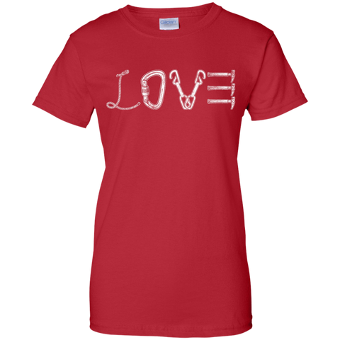 red love mountain tshirt the peep hole store