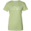Image of pistachio love mountain tshirt the peep hole store