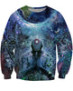 Image of Gratitude for the Earth and Sky Crewneck Sweatshirt