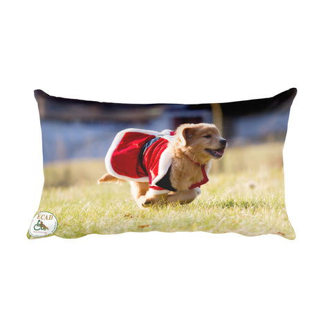 The Holidays are Coming Rectangular Pillow